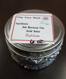 Red Morrocan and Red Rose Clay