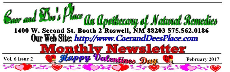 February Newsletter Title