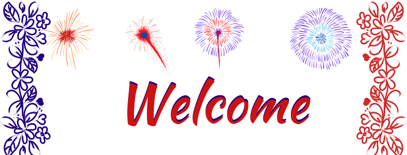 Welcome sign July-2020