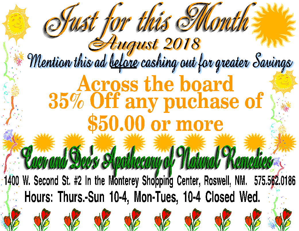 August Coupon