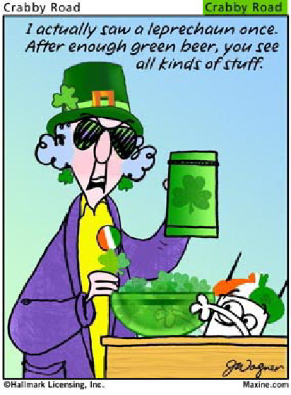 Maxine for St. Patricks Day