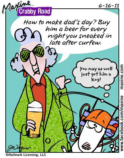Maxine for Fathers day