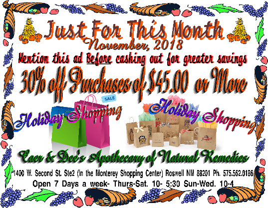 Nov Coupon