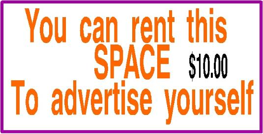 rent space ad